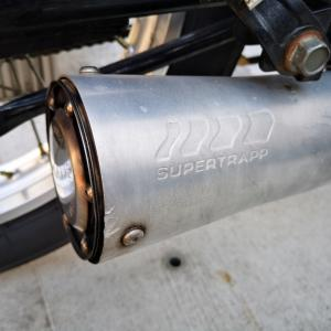 2019年4月 SR400(1JR) スーパートラップの皿の枚数を増やす