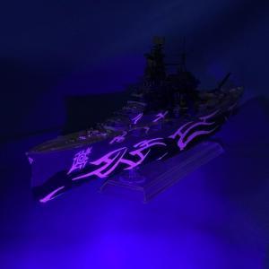 蒼き鋼のアルペジオ 大戦艦:コンゴウ 完成です