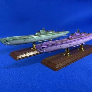 蒼き鋼のアルペジオ 霧の潜水艦 「イ400」「イ402」完成です
