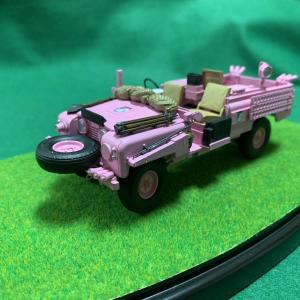 ガルパン模型 ピンクパンサー完成です