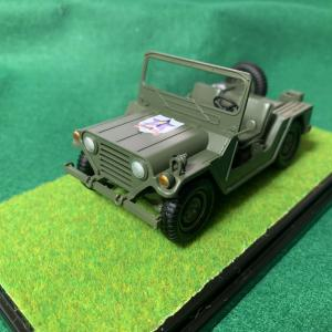 ガルパン模型 サンダースの車両完成です^^