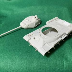ガルパン模型 「IS-2」途中経過と次回作