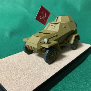 ガルパン模型 プラウダ高校:「BA-64B」完成です。