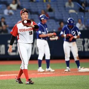 【10.30】 宮川、浜屋が日本選手権でドラフト後、初登板。