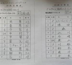 【2.27 球春MBGS】 ソフトバンク × 埼玉西武 inアイビー 先発:平良