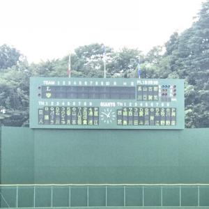 【9.13 イースタン】 ジャイアンツ × ライオンズ inG球場 先発:與座