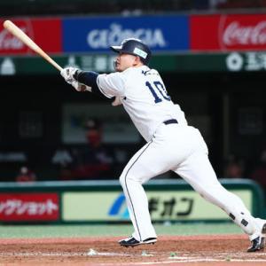 【10.27 対楽天20回戦】 森の逆転弾 光成8勝、増田30S