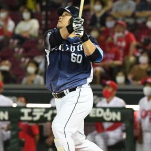【6.13 対広島2回戦】  6投手のリレーで2安打に抑える。