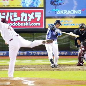 【9.3 対楽天16回戦】 呉が決勝タイムリー 打線が2度繋がる。