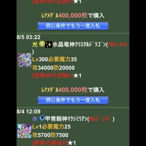 ドラゴンコレクション ドラコレ トーキ猫の幽霊船団 8日目