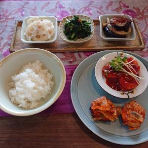 『おうち韓国料理レッスン』4回目