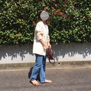 今時期のジャケットスタイル、名古屋のパン屋さん