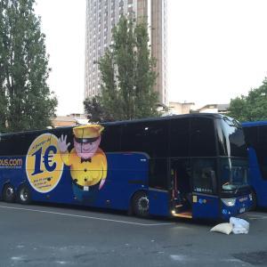パリからロンドンへ夜行バス&フェリー イライラ眠れない10時間移動