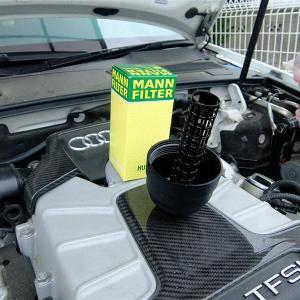 エンジンオイルの交換をしたものの...懸念事項発見!