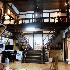 八戸市内の建造122年の新むつ旅館に泊まる②