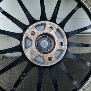 A6のサマータイヤの準備は簡単