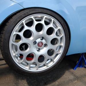 205/40R17のタイヤによる異音対策②