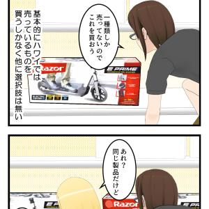 今度こそ電動キックボードを買いに来た