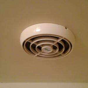 マンションの浴室換気扇を交換