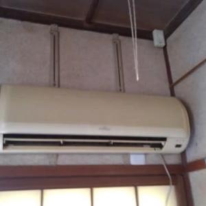 暖房強化エアコンを取付
