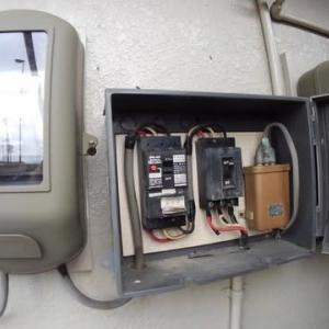 漏電遮断器を交換