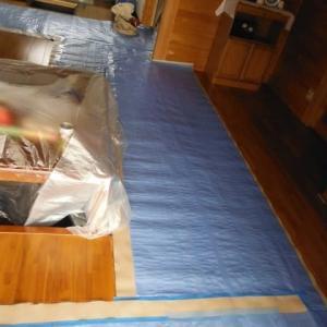 浴室リフォーム 初日は解体工事
