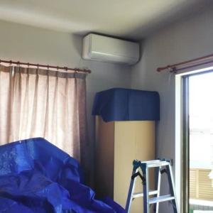 埋設配管のエアコン取替