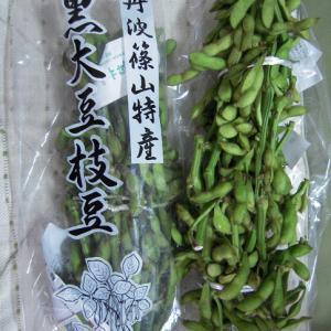 黒枝豆!「丹波篠山味まつり2010」