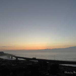 朝陽観察...始動