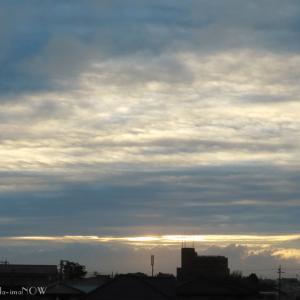心地よい雲の景色