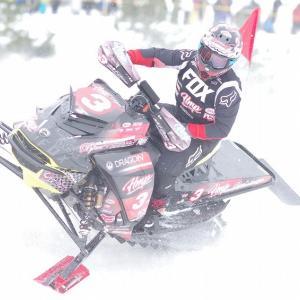 2020 全日本スノーモビル選手権第2戦士別大会 SX-PROクラス 3  林竜一 Ski-doo