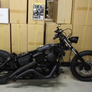 まもなく完成のバイクです。
