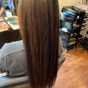 長い髪を綺麗に保つには