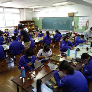 ものづくり体験授業 in 長崎市内