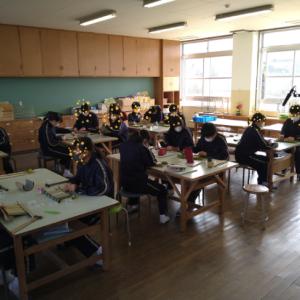 ものづくり体験授業 in 長崎市内の中学校