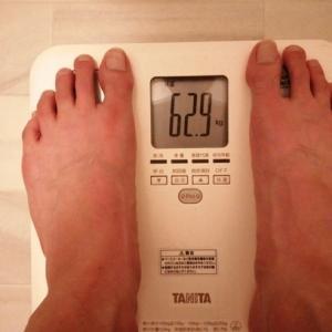 オッサンの体重は高校時代に戻った?