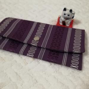 博多織で薄型財布作りましたが…