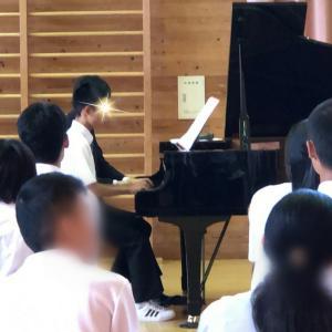 学校での演奏会