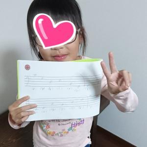 小2さん、音符読めるようになりました