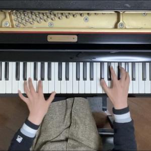レッスン動画~小5さん「SAKURA」
