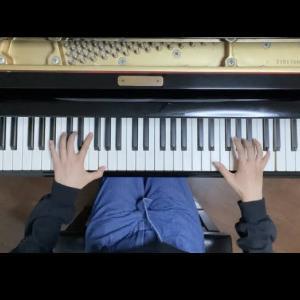 レッスン動画~中1さん「W.A.モーツァルト ソナタK.545第2楽章」