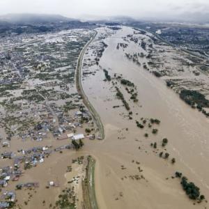 洪水の災害、ラグビー