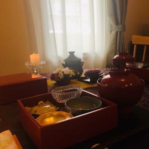 重陽の節供のテーブルコーディネート〜お重で節供を〜