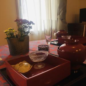 重陽の節供のテーブルコーディネート