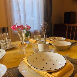春を呼ぶシトラスイエローのテーブルコーディネート
