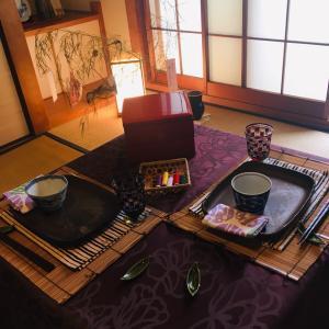 七夕のテーブルコーディネート  〜夜空を見上げて〜