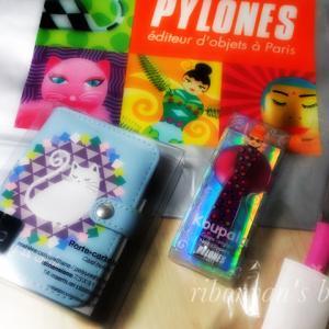 [グッズ]フランスオリジナル雑貨PYLONESの可愛いアイテムを買いました