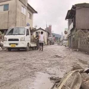 今回の豪雨災害、泥カキボランティアはどうなるの?