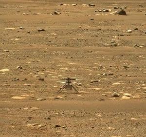 NASAが火星でヘリコプターを、飛ばしました!
