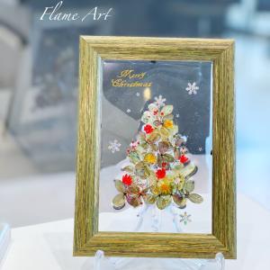 【募集】クリスマスフレームアート レジンアートデコール